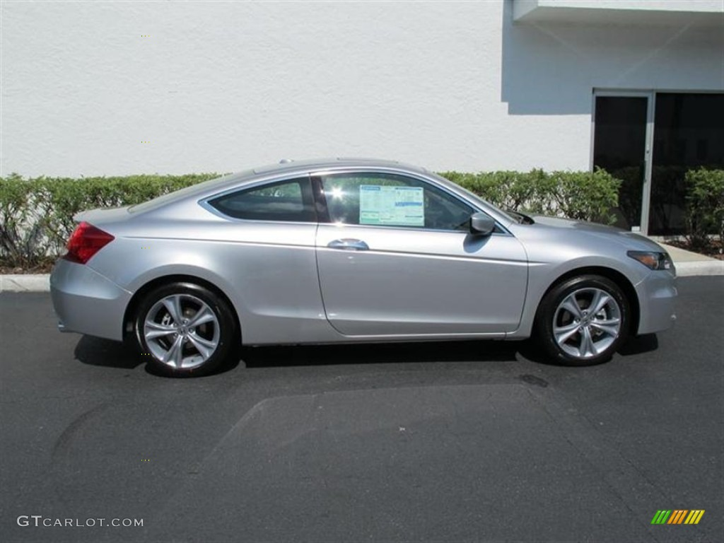 Alabaster Silver Metallic 2011 Honda Accord Ex L V6 Coupe Exterior Photo 50455515 Gtcarlot Com