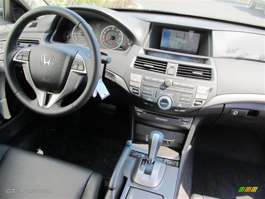 2011 Honda Accord Ex L V6 Coupe Black Dashboard Photo