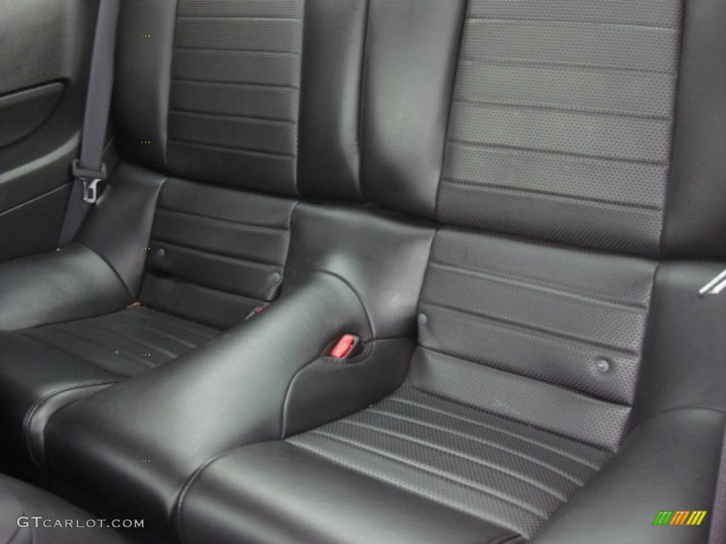 Dark Charcoal Interior 2006 Ford Mustang GT Premium Coupe Photo #50460701
