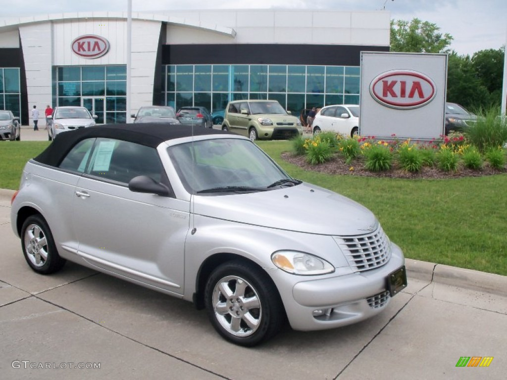2005 bright silver metallic chrysler pt cruiser touring. Black Bedroom Furniture Sets. Home Design Ideas