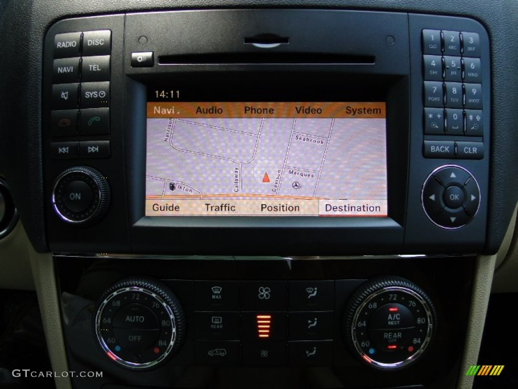 2011 mercedes benz ml 550 4matic navigation photo for Mercedes benz navigation update