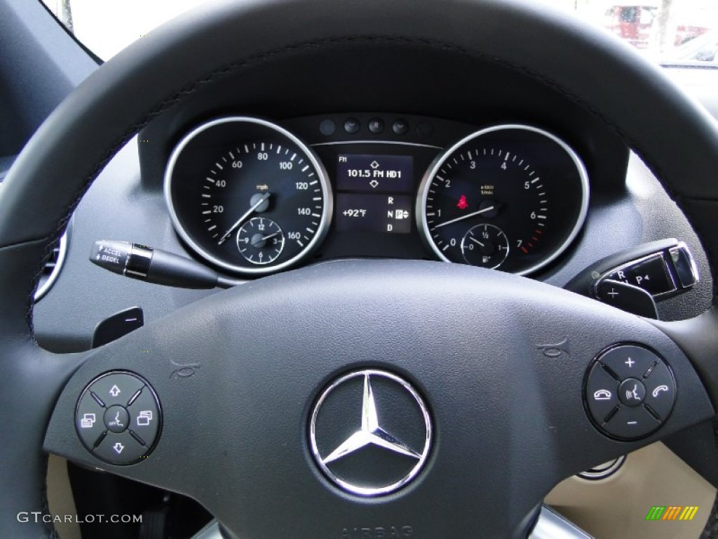 2011 mercedes benz ml 550 4matic cashmere steering wheel for 2011 mercedes benz ml550 4matic