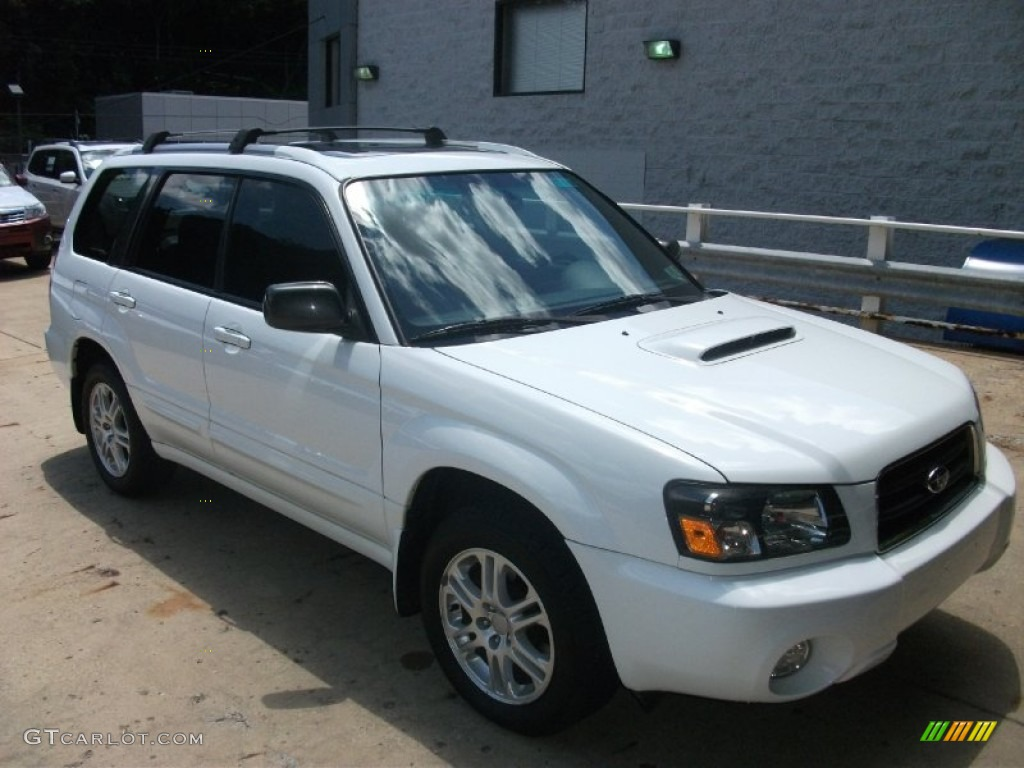 2005 aspen white subaru forester 2 5 xt 50466211 photo 3 car color galleries. Black Bedroom Furniture Sets. Home Design Ideas