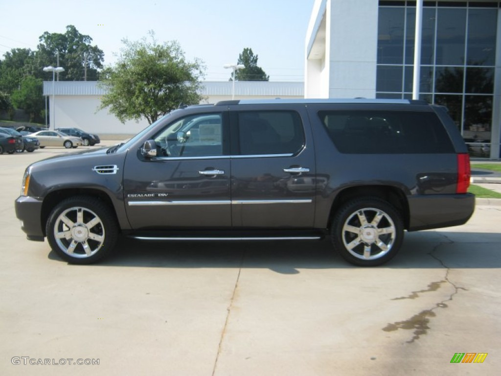 galaxy gray metallic 2011 cadillac escalade esv luxury awd. Black Bedroom Furniture Sets. Home Design Ideas
