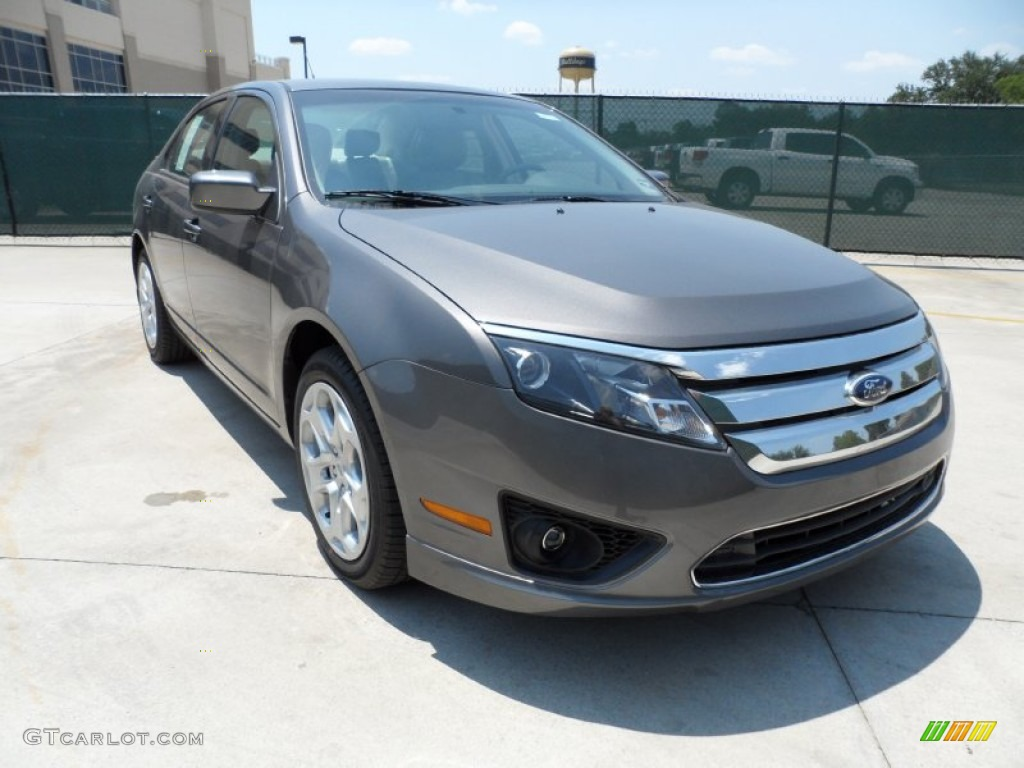 Sterling Grey Metallic Ford Fusion