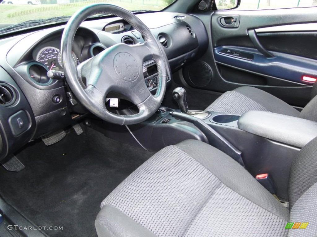 Midnight Interior 2004 Mitsubishi Eclipse Spyder Gt Photo