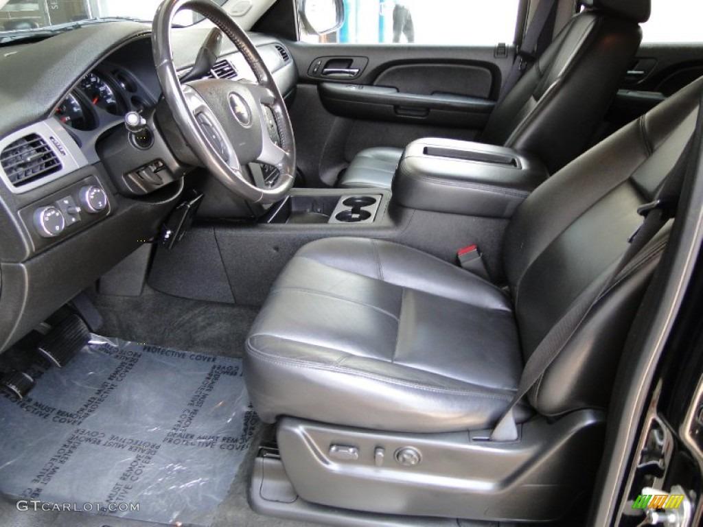 Ebony Interior 2008 Chevrolet Tahoe Z71 4x4 Photo 50470402