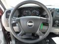 Dark Titanium Steering Wheel Photo for 2008 Chevrolet Silverado 1500 #50474515