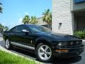 2007 Black Ford Mustang V6 Premium Coupe  photo #4