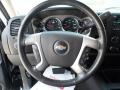 Ebony Steering Wheel Photo for 2008 Chevrolet Silverado 1500 #50479615