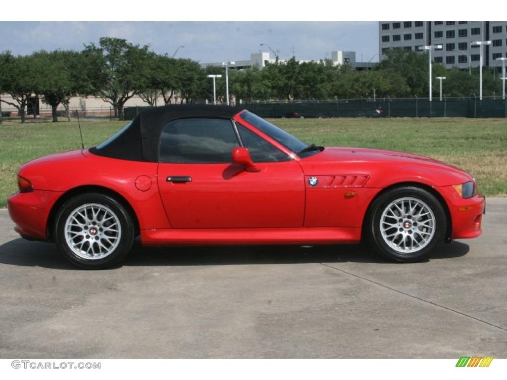 Bright Red 1998 Bmw Z3 2 8 Roadster Exterior Photo 50482201 Gtcarlot Com