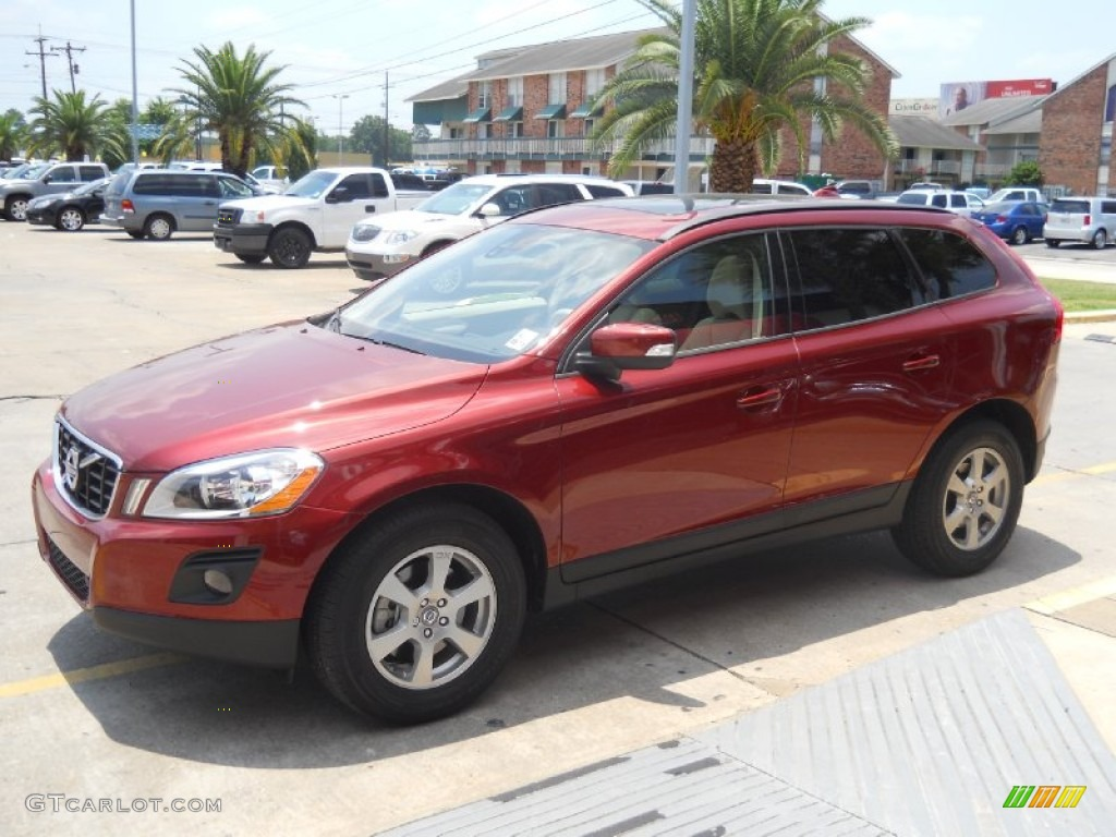 Maple Red Metallic 2010 Volvo Xc60 3 2 Exterior Photo