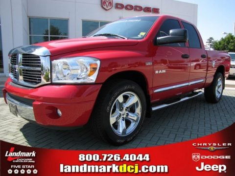 2008 Dodge Ram 1500 Laramie Quad Cab Data, Info and Specs