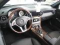 2012 SLK 350 Roadster Black Interior