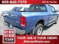 2002 Atlantic Blue Pearl Dodge Ram 1500 SLT Quad Cab 4x4  photo #3