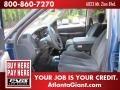2002 Atlantic Blue Pearl Dodge Ram 1500 SLT Quad Cab 4x4  photo #6