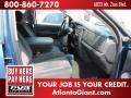 2002 Atlantic Blue Pearl Dodge Ram 1500 SLT Quad Cab 4x4  photo #11