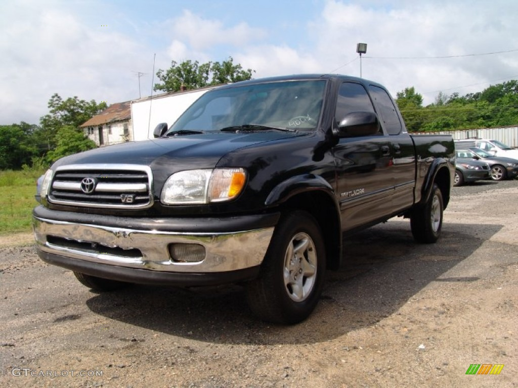 2001 black toyota tundra limited extended cab 4x4 50466284 car color galleries. Black Bedroom Furniture Sets. Home Design Ideas