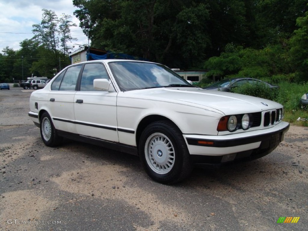 alpine white 1990 bmw 5 series 525i sedan exterior photo. Black Bedroom Furniture Sets. Home Design Ideas