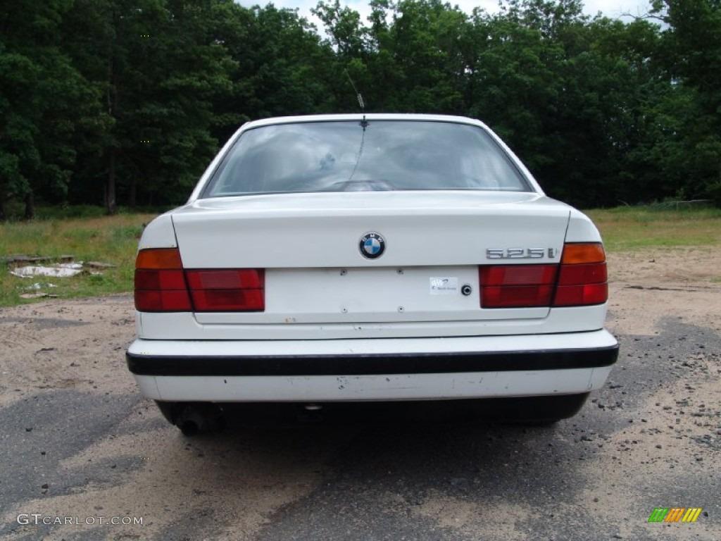 Alpine White 1990 Bmw 5 Series 525i Sedan Exterior Photo 50488297