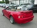 2001 Laser Red Metallic Ford Mustang GT Convertible  photo #4