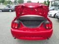 2001 Laser Red Metallic Ford Mustang GT Convertible  photo #8