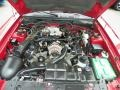 2001 Laser Red Metallic Ford Mustang GT Convertible  photo #11