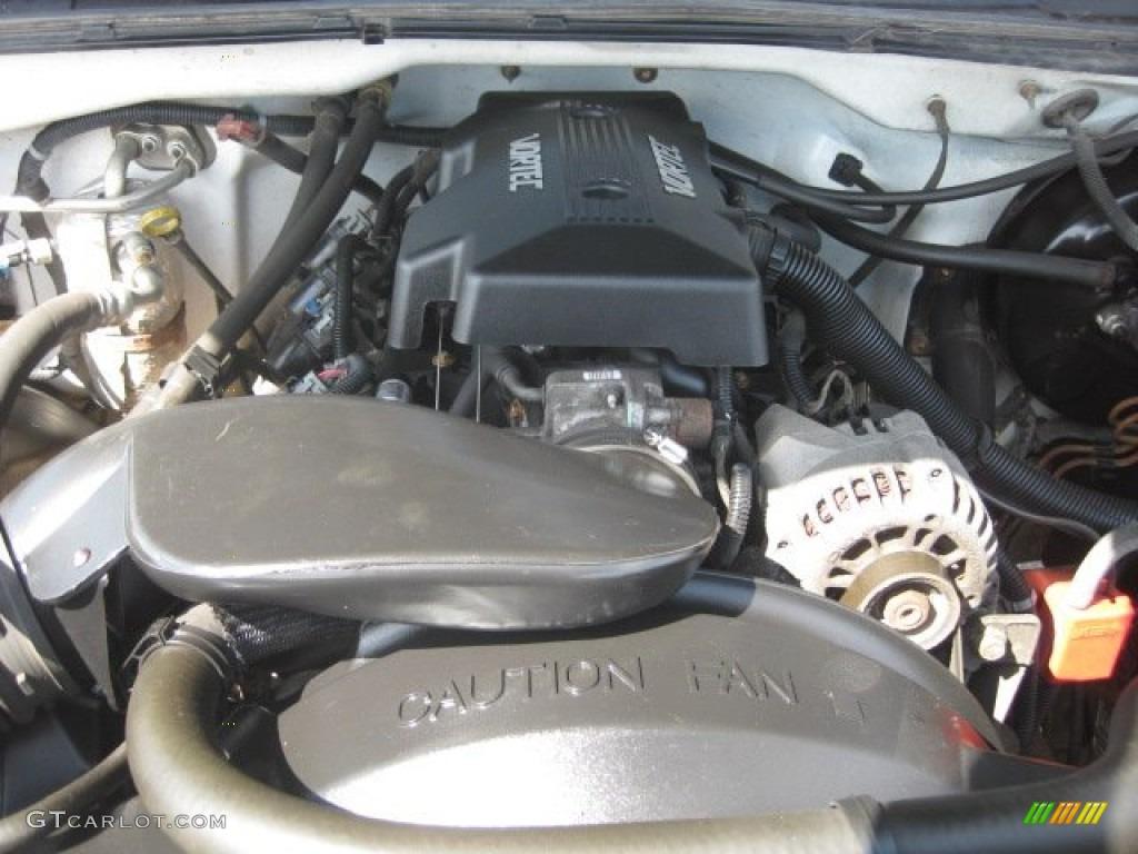 2000 Chevrolet Silverado 1500 LS Extended Cab 4x4 5.3 Liter OHV 16-Valve Vortec V8 Engine Photo #50491525