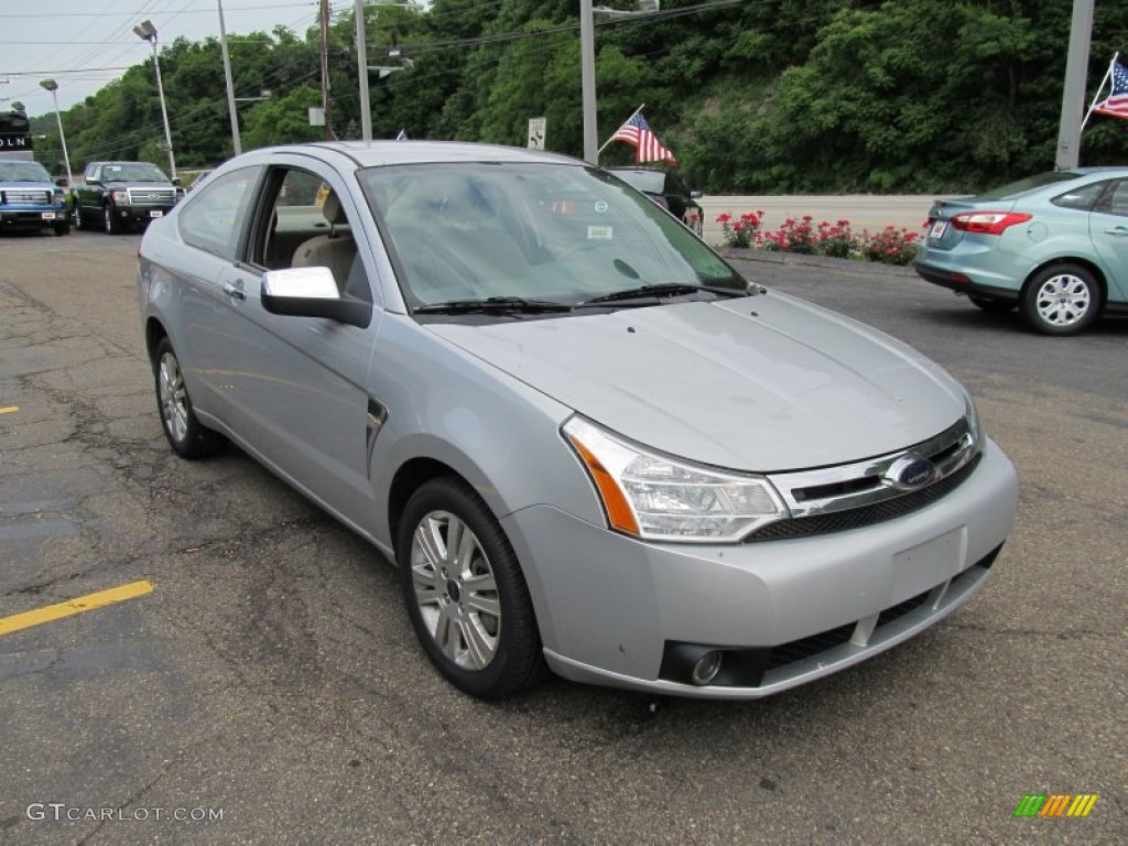 Silver Frost Metallic 2008 Ford Focus Se Coupe Exterior Photo 50492157