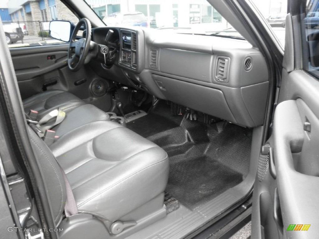 Dark Charcoal Interior 2004 Chevrolet Silverado 2500hd Ls Crew Cab 4x4 Photo 50493688