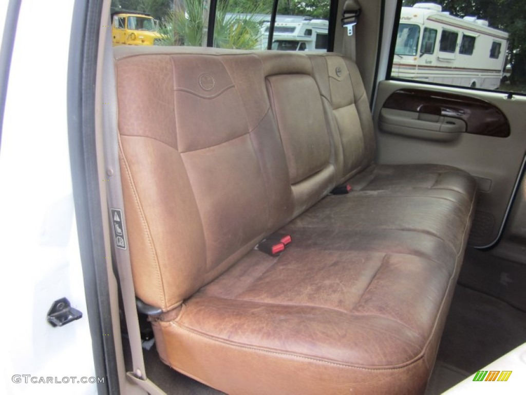 2003 Ford F350 Super Duty King Ranch Crew Cab 4x4 Dually interior ...