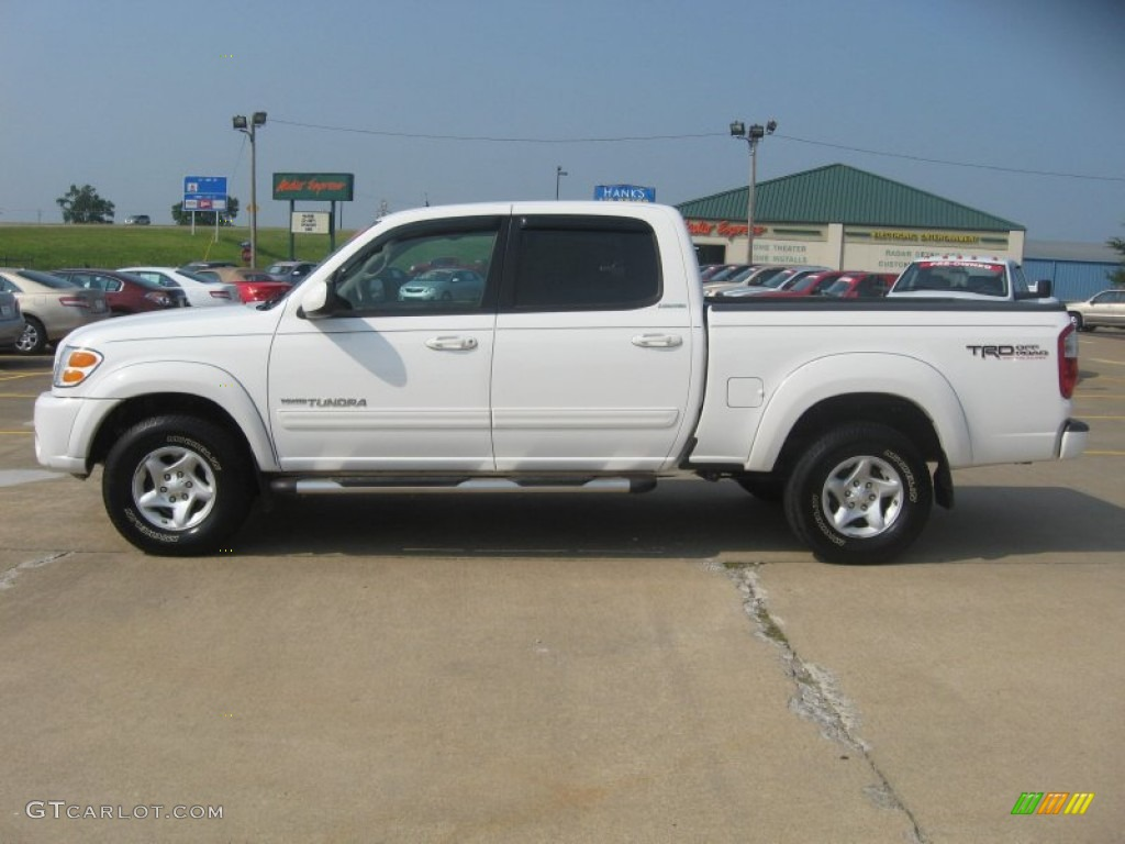natural white 2004 toyota tundra limited double cab 4x4. Black Bedroom Furniture Sets. Home Design Ideas