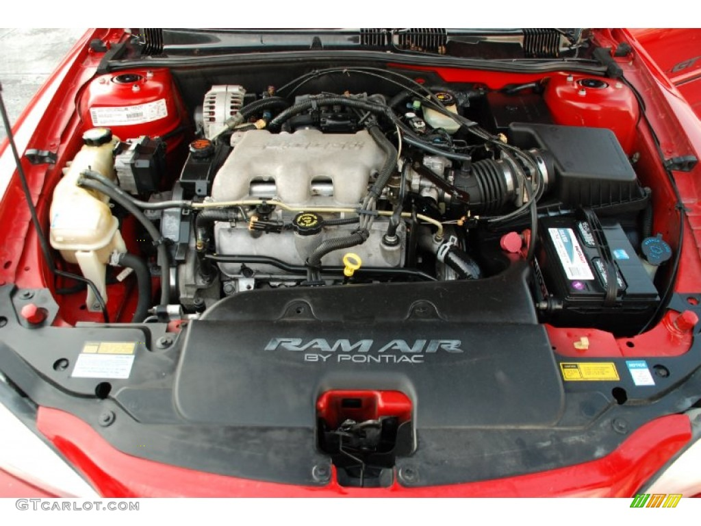 2001 Pontiac Grand Am GT Coupe 3.4 Liter OHV 12-Valve V6 Engine Photo ...