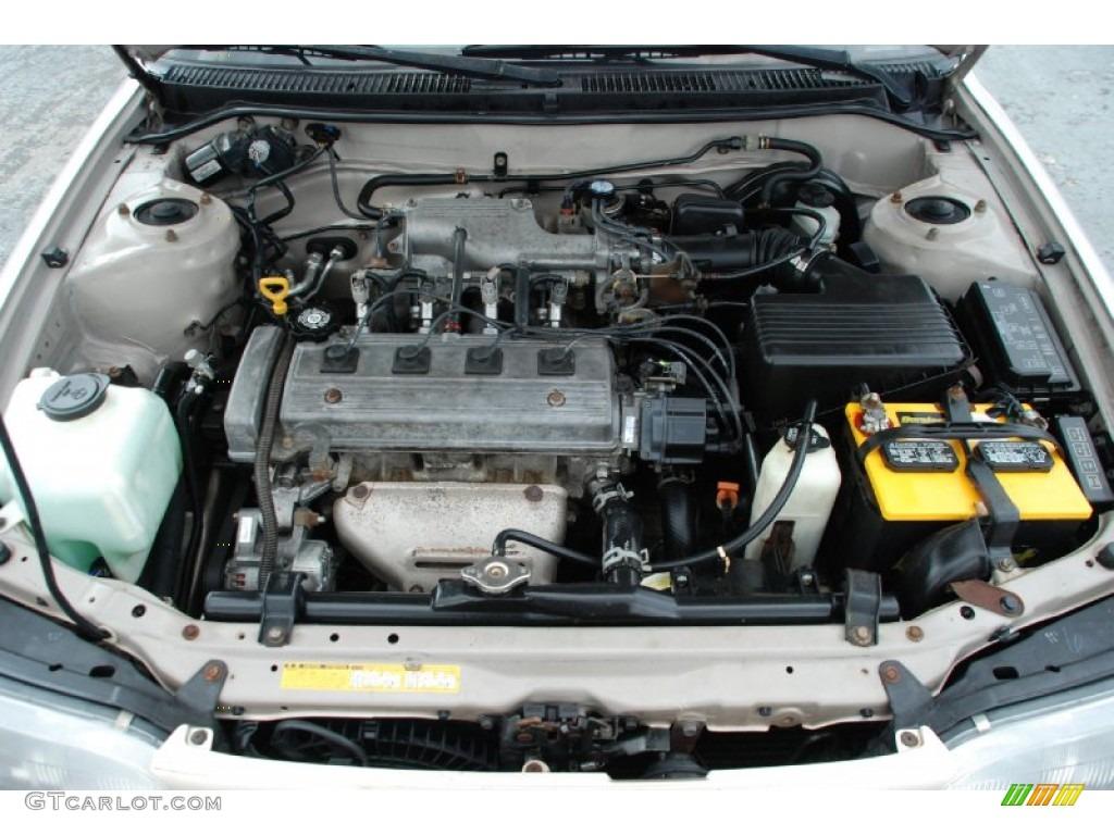 Двигатель тойоты короллы 1.6
