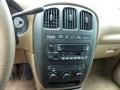 2003 Chrysler Voyager Taupe Interior Controls Photo