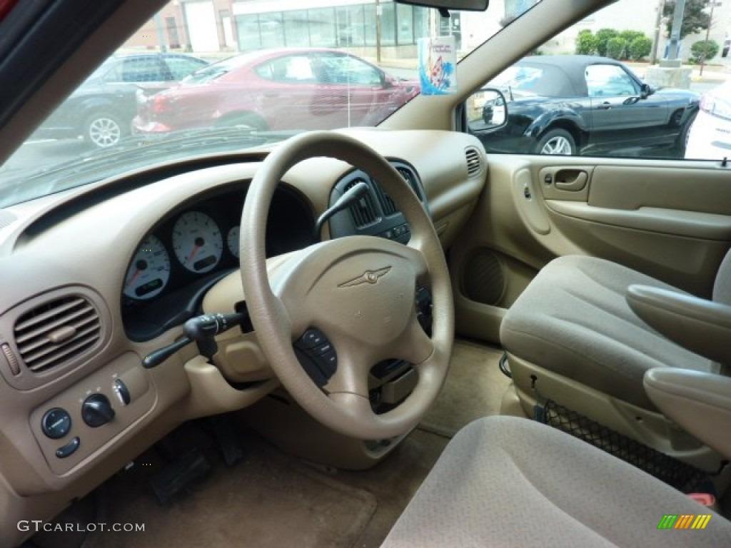 Taupe interior 2003 chrysler voyager lx photo 50504128