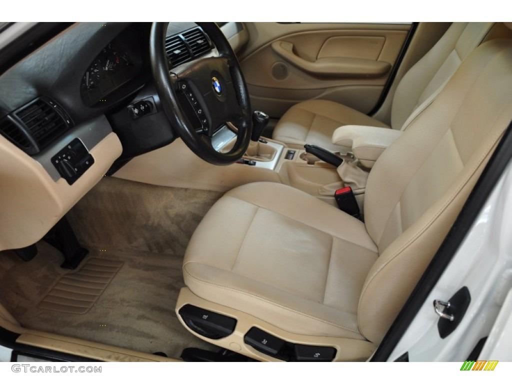 Sand Interior 2004 BMW 3 Series 325i Wagon Photo #50505754