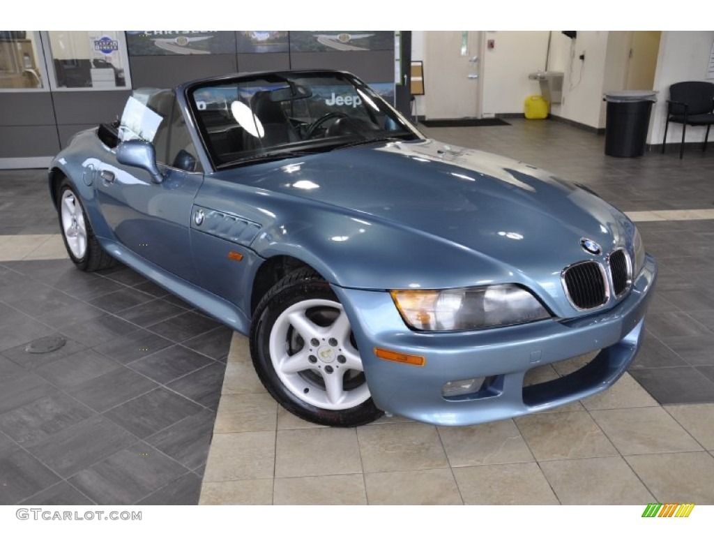 Atlanta Blue Metallic 1997 Bmw Z3 2 8 Roadster Exterior
