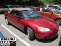 2002 Ruby Red Pearl Chrysler Sebring LXi Convertible  photo #1