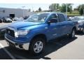 2008 Blue Streak Metallic Toyota Tundra SR5 Double Cab 4x4  photo #4