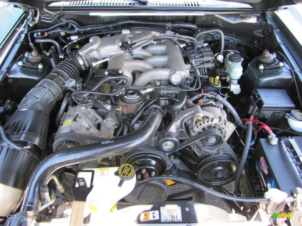2002 Ford Mustang V6 Convertible 3 8 Liter Ohv 12