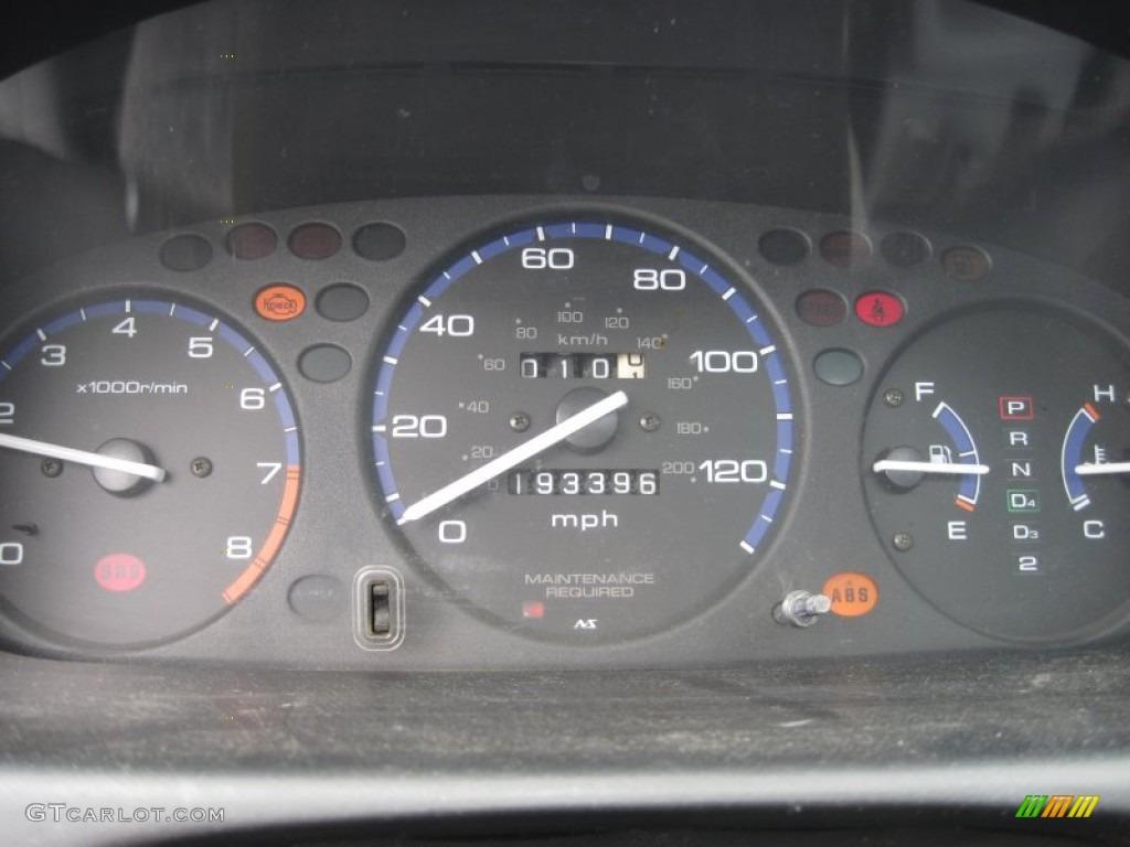 1999 Honda Civic Lx Sedan Gauges Photo 50529445 Gtcarlot Com
