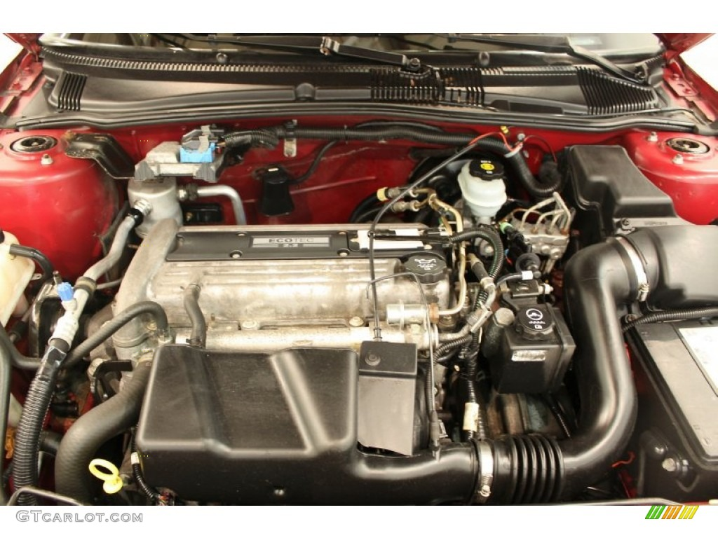 2005 Pontiac Sunfire Coupe 2.2 Liter DOHC 16V ECOTEC 4 Cylinder Engine Photo #50532709