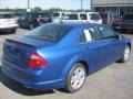 2011 Blue Flame Metallic Ford Fusion SE  photo #4