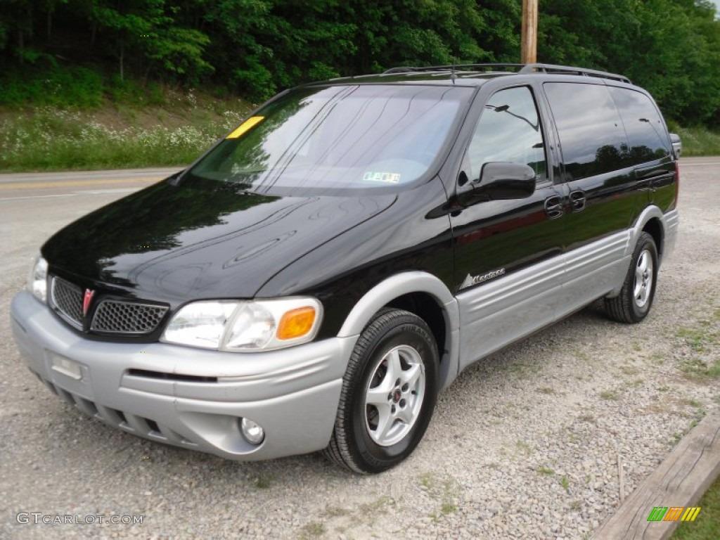 2001 Black Pontiac Montana  50501725