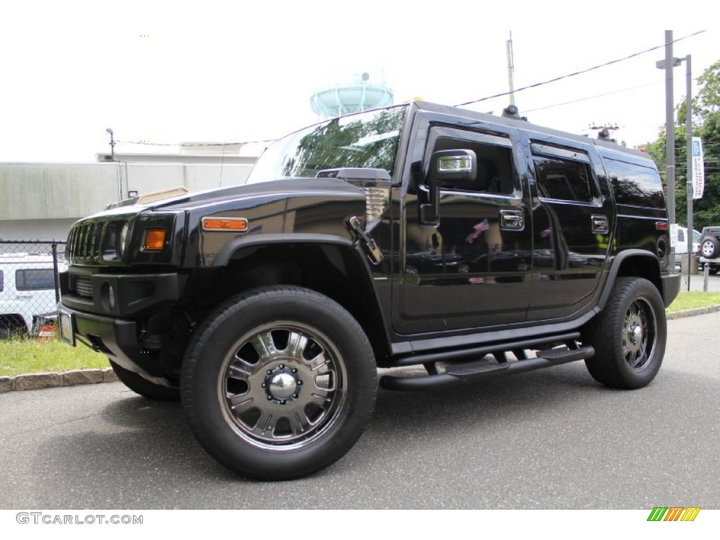 Black 2006 Hummer H2 SUV Exterior Photo #50536849