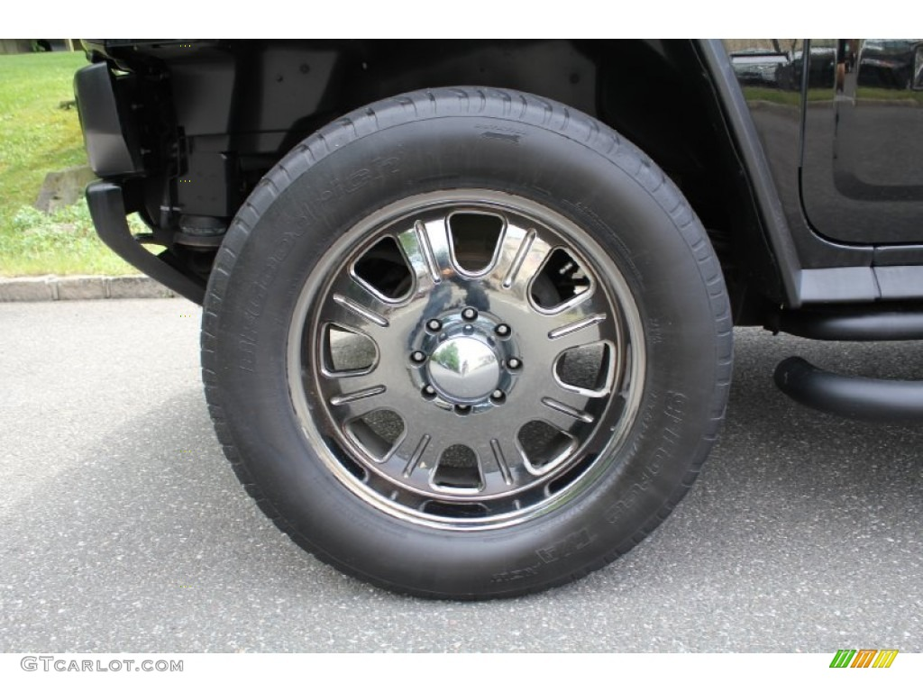 2006 Hummer H2 SUV Custom Wheels Photo #50536957
