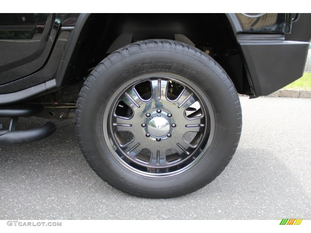 2006 Hummer H2 SUV Custom Wheels Photo #50536975