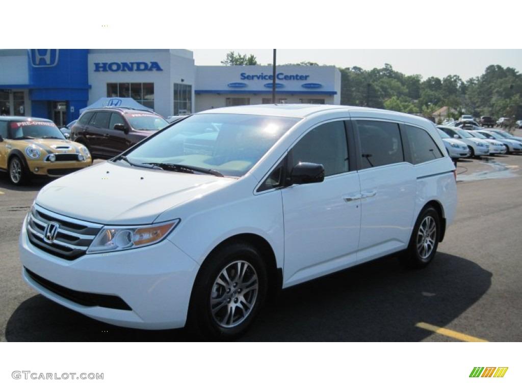 2011 Taffeta White Honda Odyssey Ex L 50502017 Car Color Galleries
