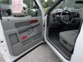 2006 Bright White Dodge Ram 1500 SLT Regular Cab  photo #4